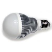 LED 5W, 230V, patice E27, 240lm, stříbrná