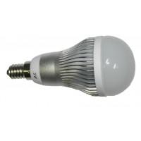 LED CREE 3W, 230V, patice E14, vyzař.úhel 180°