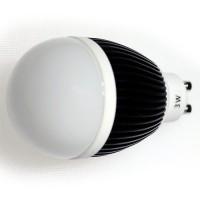 LED 3W, 230V, patice GU10, 180lm, černá