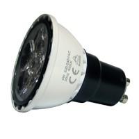 LED 5W, 230V, patice GU10, 3000K, stmívatelná